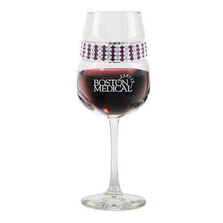 FWAT - Footed Wine Glass Amethyst Bracelet