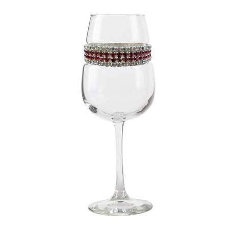 BFWBX - Blank Footed Wine Glass Bordeaux Bracelet