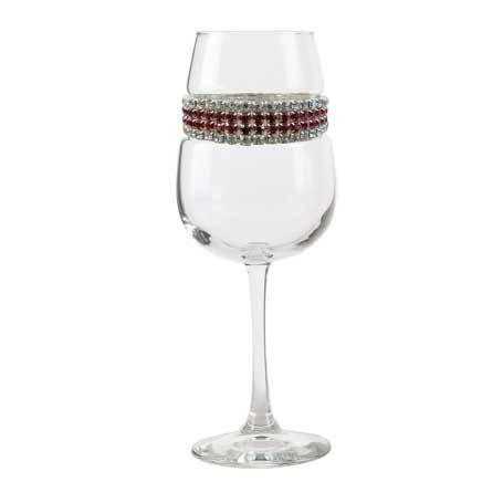 BFWBX - Blank Footed Wine Glass Bordeaux Bracelet