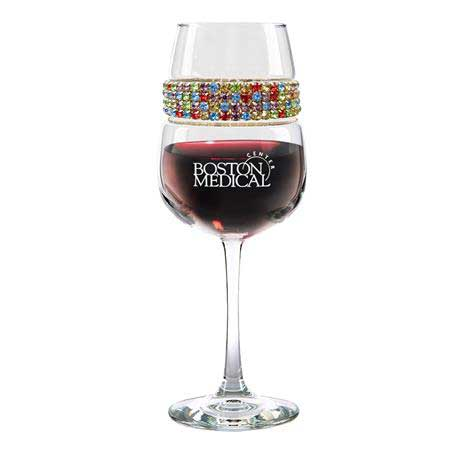 FWCF - Footed Wine Glass Confetti Bracelet