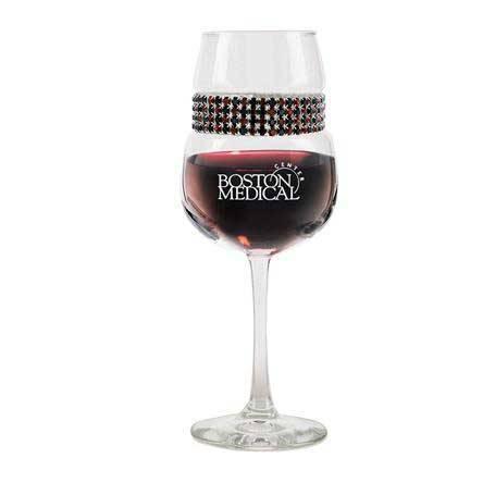 FWCG - Footed Wine Glass Cognac Bracelet