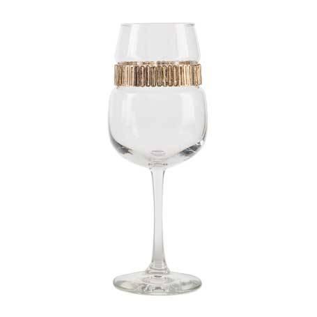 BFWCL - Blank Footed Wine Glass Cleopatra Bracelet