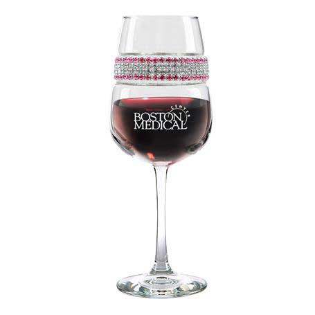 FWCM - Footed Wine Glass Cosmopolitan Bracelet