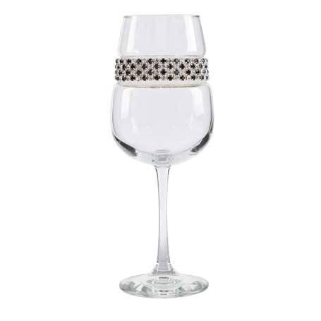 BFWFA - Blank Footed Wine Glass Fifth Avenue Bracelet