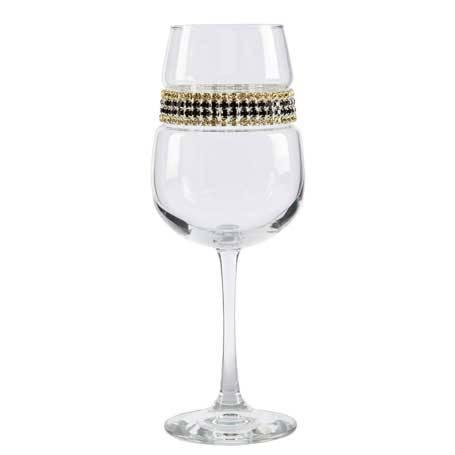 BFWGC - Blank Footed Wine Glass Gold Coast Bracelet