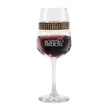 FWGR - Footed Wine Glass Raven Gold Bracelet