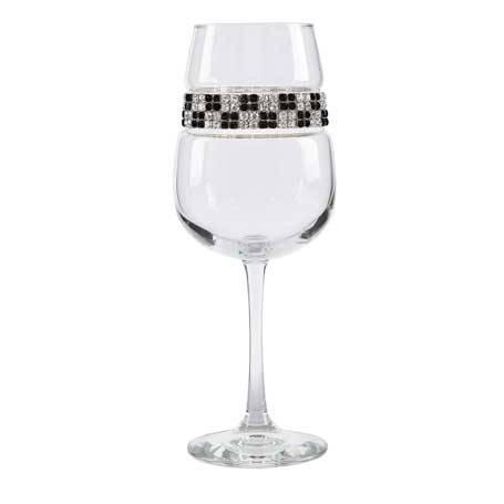 BFWMH - Blank Footed Wine Glass Manhattan Bracelet