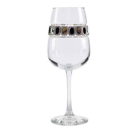 BFWPD - Blank Footed Wine Glass Painted Desert Bracelet