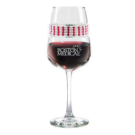 FWRB - Footed Wine Glass Ruby Bracelet