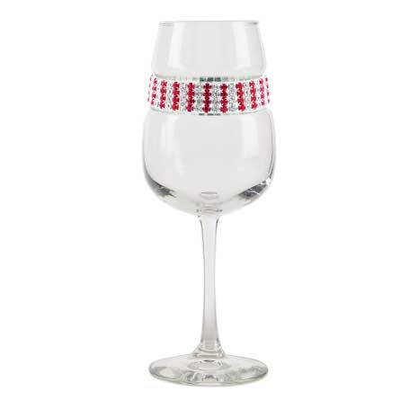 BFWRB - Blank Footed Wine Glass Ruby Bracelet