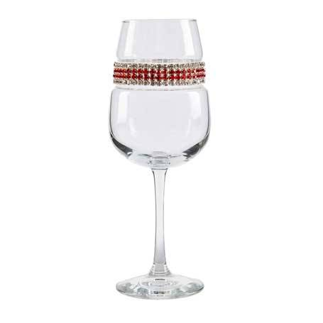 BFWRC - Blank Footed Wine Glass Red Carpet Bracelet