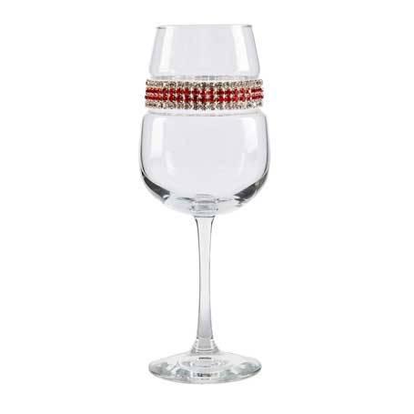 BFWRC - Footed Wine Glass Red Carpet Bracelet
