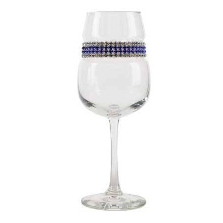 BFWST - Blank Footed Wine Glass Santorini Bracelet