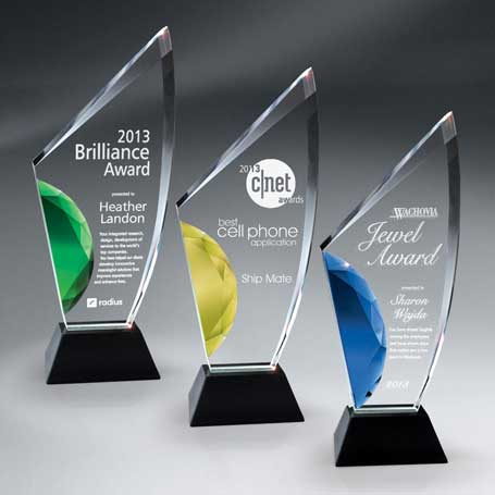 GI512B* - Vibrant Gemstone Award - Large