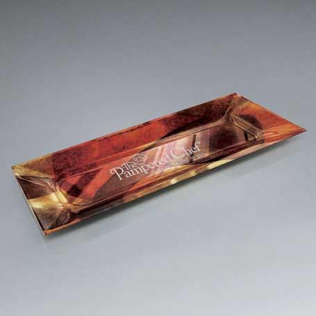 GI579 - Art Glass Lasered Tray