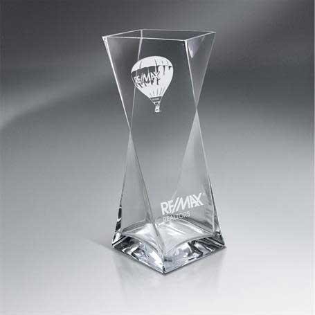 GI598 - Unique Glass Vase