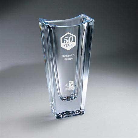 GI630B - Crystal Vase - Large