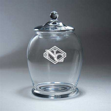 GI653 - Clear Glass BonBon Bowl with Lid