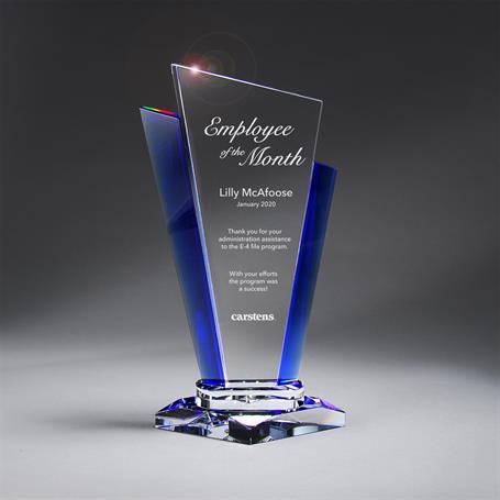 GM713B - Optic Crystal Palace Award - Medium