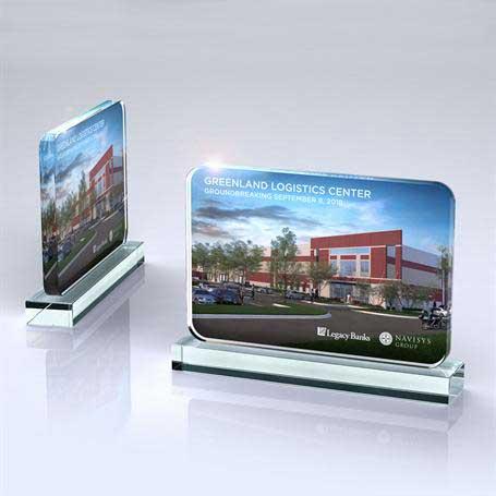 OB021 - Glass Tablet on Base