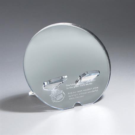 PH07MC - Circle Mirror Phone Holder