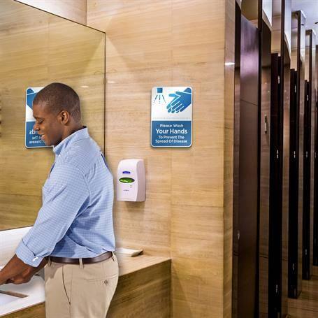 SG1002HW - Hand Washing Reminder Sign