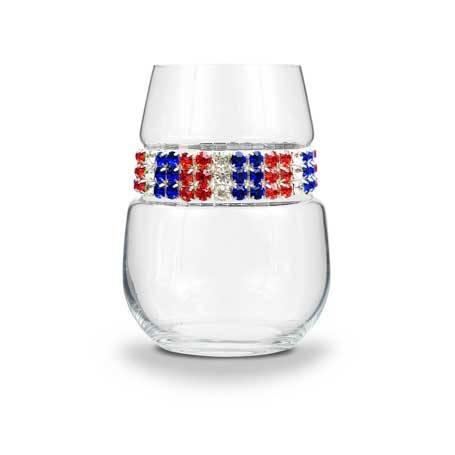 BWSAM - Stemless Wine Glass Americana Bracelet