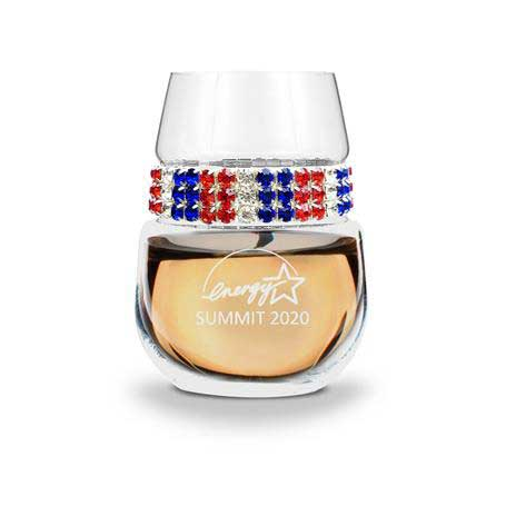 WSAM - Stemless Wine Glass Americana Bracelet