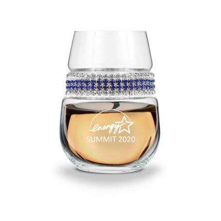 WSST - Stemless Wine Glass Santorini Bracelet