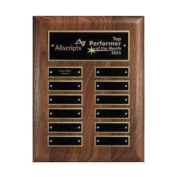 CD1013V - 12-Plate Perpetual Plaque - Vertical