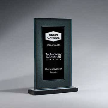 CD1019C - Crackle Stone Award - Large