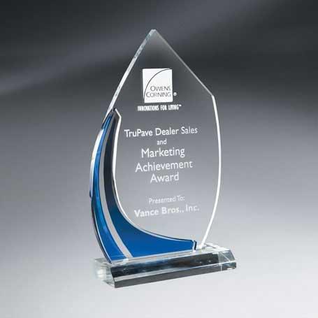 CD22B - Large Multi-Dimensional Blue Vista Award