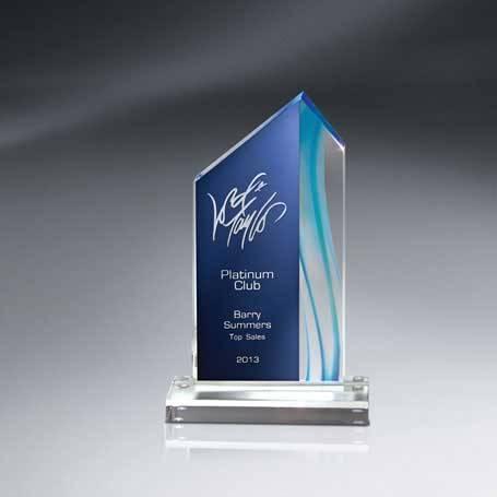 CDUS02A - Aquus Lucite Peak Award - Small