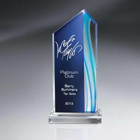 CDUS02C - Aquus Lucite Peak Award - Large