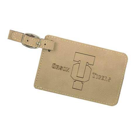 CM295LB - Leatherette Luggage Tag