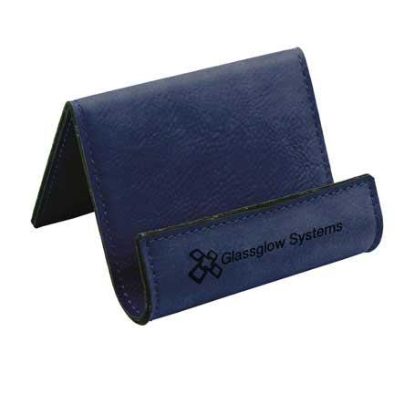 CM296BL - Leatherette Phone Easel