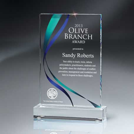 DCCD424* - Medium Digi-Color Lucite Award