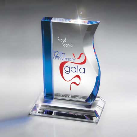 GI20 - Blue and Optic Crystal Success Award