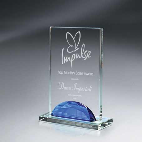 GI513A* - Optic Crystal Gemstone Award - Small