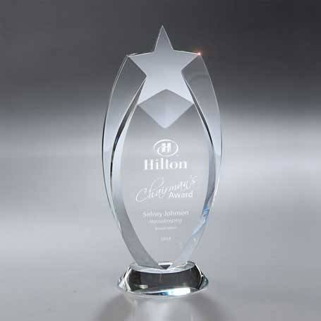 GI556 - Optic Crystal Star Award