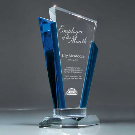 GI561A - Optic Crystal Palace Award - Medium