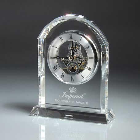 GM478 - Optic Crystal Desk Clock