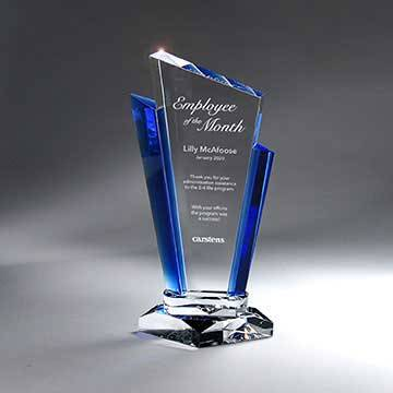 GM713A - Optic Crystal Palace Award - Small