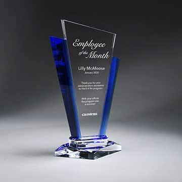 GM713C - Optic Crystal Palace Award - Large