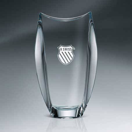 GNS118 - Orbit Vase Crystal
