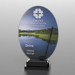 Golf Course Silhouette Award