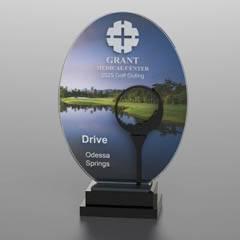 Golf Course Silhouette Award