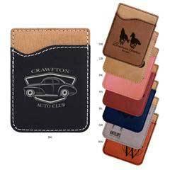 Leatherette Phone Wallet