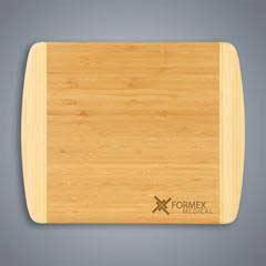 2-Tone Bamboo Cutting Board - Small