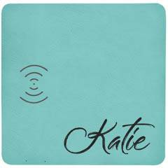 Leatherette Wireless Phone Charging Mat with USB Cord